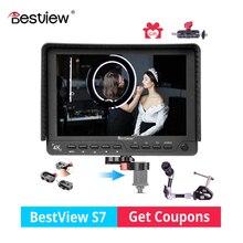 Bestview S7 4 k 7 polegada 1920*1200 HD HDMI monitor da câmera de vídeo DSLR camera monitor Externo para o cinema a gravação de vídeo