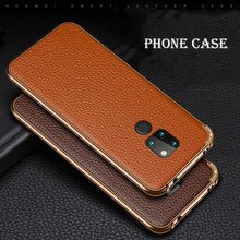 Luxury Leather Back Cover Case for Huawei Mate 20