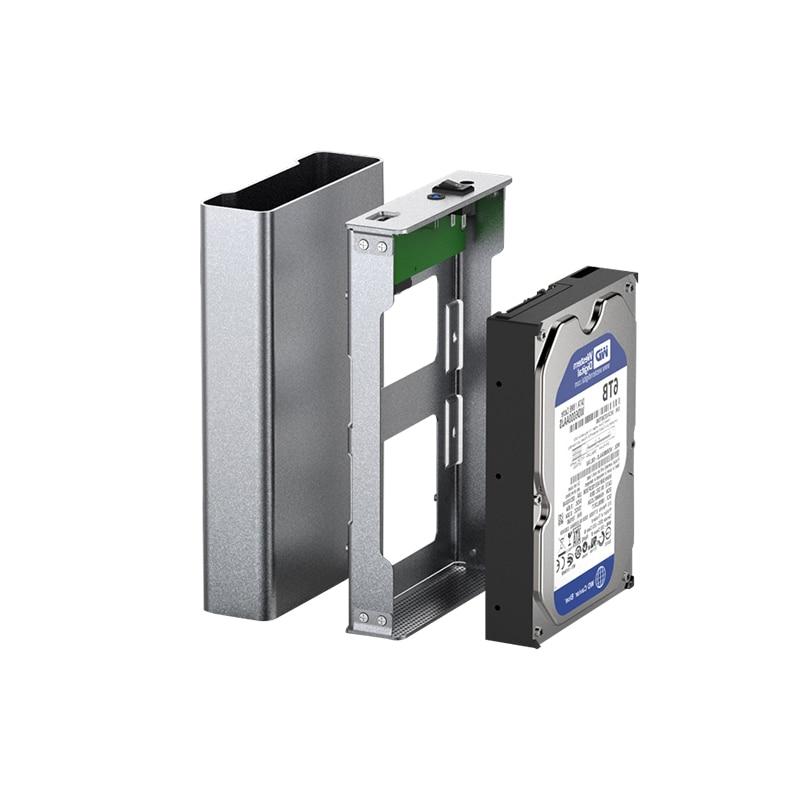 type C 3 1 hdd enclosure full alumimum hard drive sata hdd case adapter  2 5