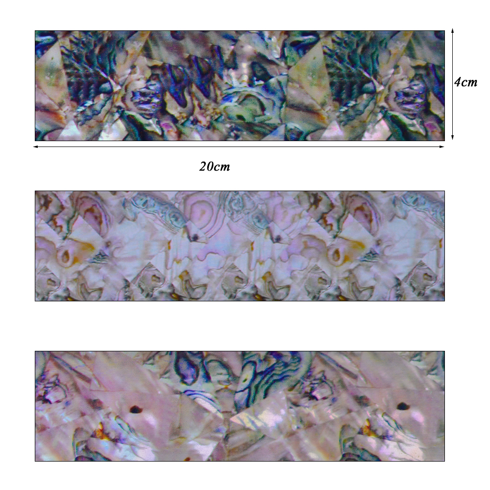 16 stücke Holographische Nail Transfer Aufkleber Gradienten Marmor ...