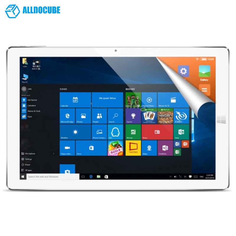 12.3 inch Tablet PC CUBE i12 iwork12  Intel Cherry Trail X5-Z8300 1.8GHz Quad-core 4GB 64GB Windows 10 & Android 5.1 Dual OS PC цена 2016