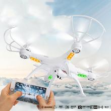 """חדש 4 ציר Quadcopter זמן זמזום WiFi מצלמה ללא ראש WiFi אלחוטי שלט רחוק 2MP FPV RC מסוק להכיל אור מזל""""ט"""