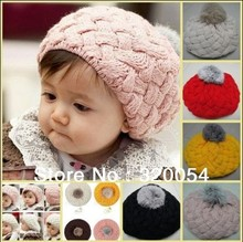 Free shipping,2013 the new apple children knitted caps, fashion autumn/winter warm hat, children's multicolor
