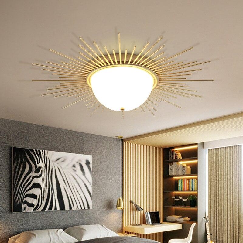 Ancient Roman Retro LED ceiling lamp living room fixtures iron acrylic  Ceiling lighting corridor bedroom ceiling lights