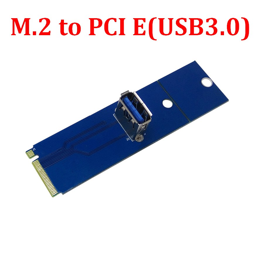 PCI Express pci express PCI E USB 3 0 port Female to NGFF M 2 M