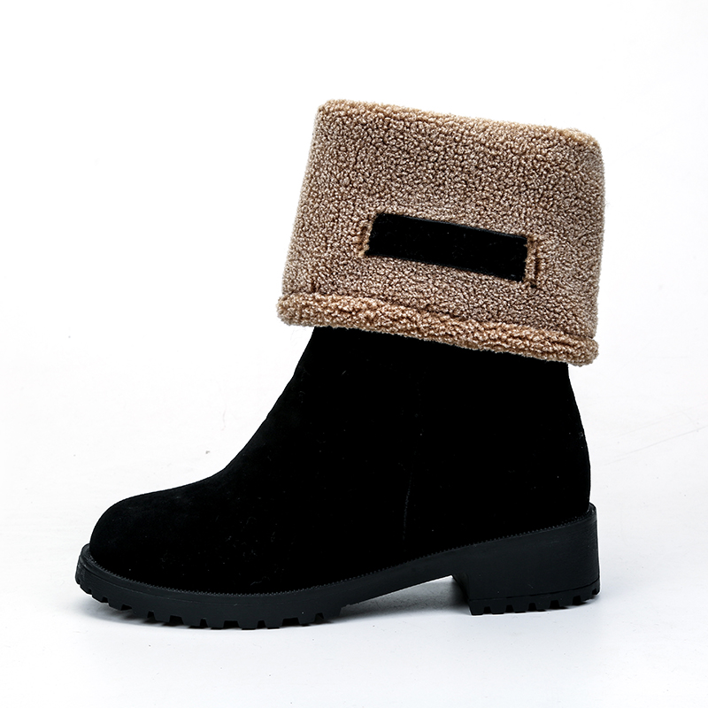 Snow Boots shoes Warm slip on Boots