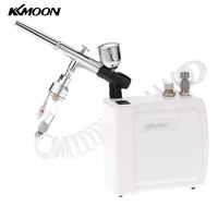 Dual Action spray gun Airbrush Compressor Kit paint spraygun Air Brush sandblaster Makeup Manicure car Cake Model Nail Tool