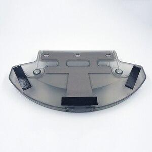 Image 2 - Бак для воды + 3 * тряпка для швабры Для Ecovacs Deebot DT85G DT85 DT83 DM81 DE35 dg710 Запчасти для робота пылесоса Замена резервуара для воды