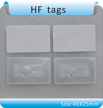 Free shipping 100pcs 13.56 MHz ICODE-2 / HF tags, books management tag/stickers RFDI tgas  / ISO -15693 free shipping iso