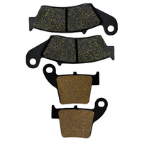 2 Pairs Motorcycle Brake Pads For Honda CRF250R CRF250X 2004 2015 CRF450R CRF450X 2002 2015 Brake