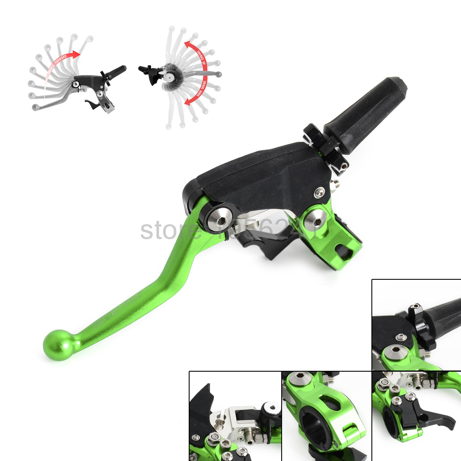 Forged Folding Clutch Lever Perch w/ Hot Starter For Kawasaki KX65/80/85/100/125/250/500 1995-2016 воблер fisherman perch цв pr