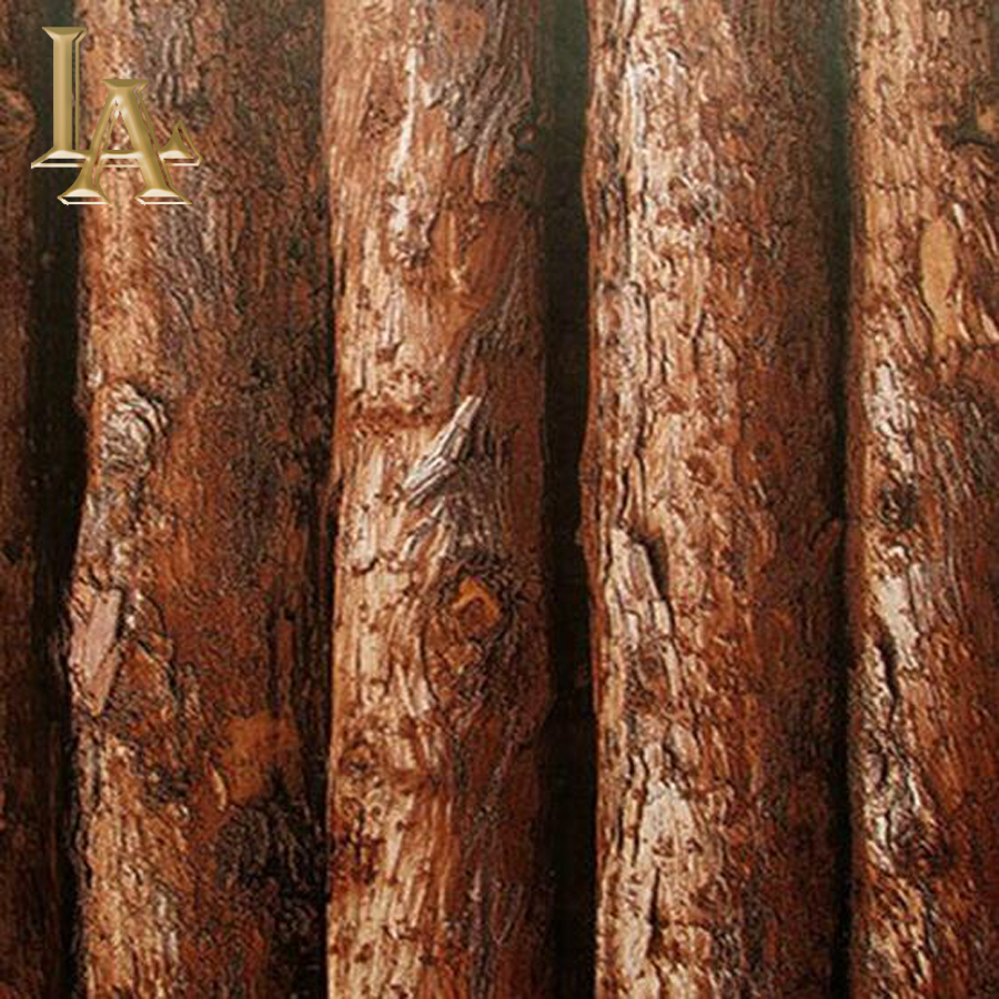 Vintage Brown Grey Birch Tree – Natural – Cream – Trees Designer  Vinyl 3D Wallpaper/Thick Embossed Textured Wallpaper W7