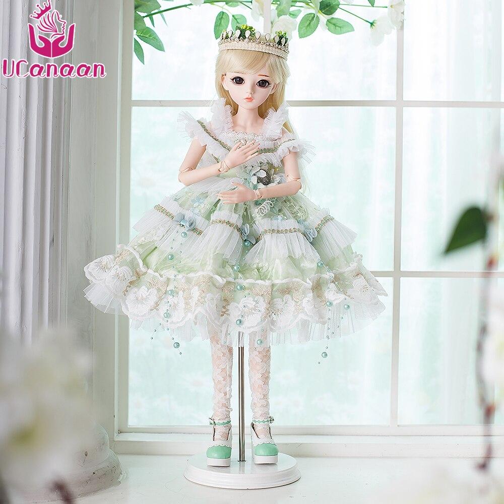 ... Toys for Girls Reborn Girls 60CM. . UCanaan BJD Dolls SD Doll Makeup  Wedding Party Dress Wigs Shoes 18 Joints Body Beautiful Dream. sku   32843647175 e68ccaa33b7e