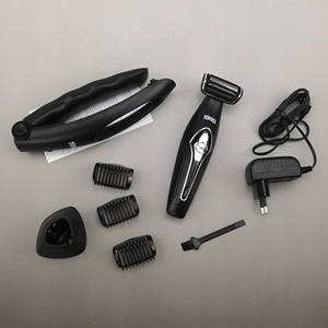 Image 3 - Facial,Body,Back shaving machine wet dry electric shaver hair foil electric razor beard trimmer men professional grooming set