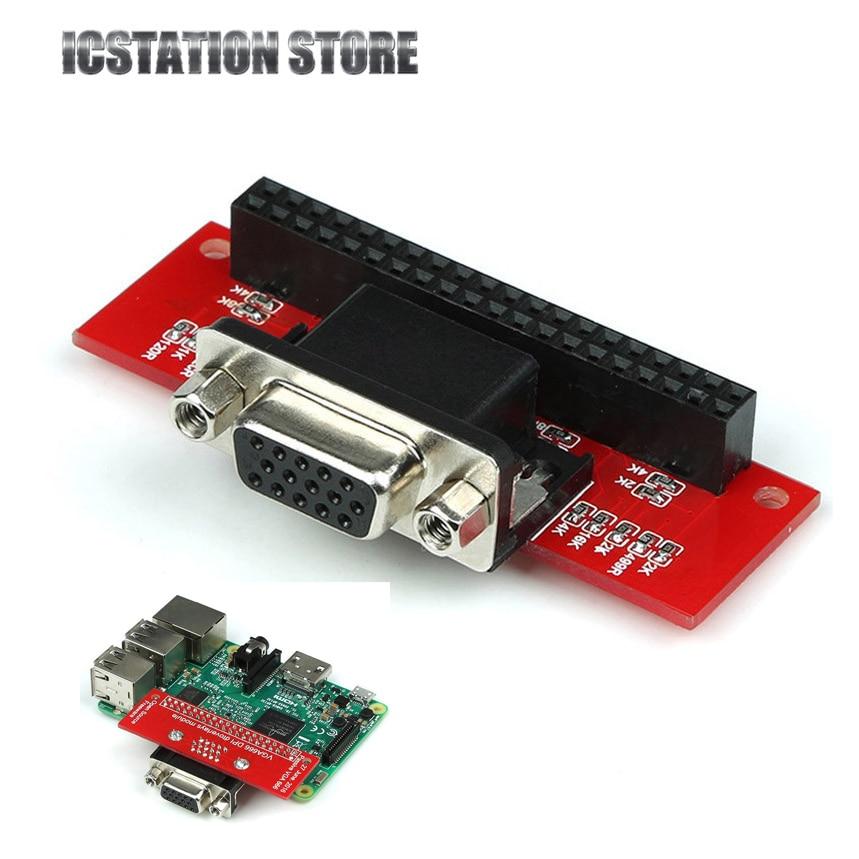 VGA 666 VGA666 Adapterkarte GIPO zu VGA für Raspberry Pi 3 Modell...