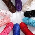 2017 Verão Calçados Femininos Botas Moda Oco Sapatos de Malha Mulheres Gancho Flores Botas Femme Botas Altas Sandálias Sapato Respirável