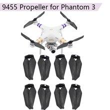 8 sztuk rekwizyty składane śmigła dla DJI Phantom 3 2 Drone CW CCW 9455 Carbon Fiber Blade Airscrew akcesoria wymienne