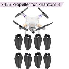 8Pcs Props Vouwen Propellers Voor Dji Phantom 3 2 Drone Cw Ccw 9455 Carbon Fiber Blade Propellor Vervanging Accessoire