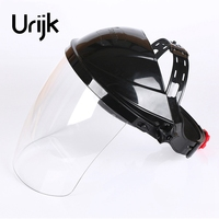 Urijk Transparent Protective Mask Japanese Imported PC Headset Welding Mask Fold Automatic Dimming High Quality Hot