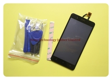 Wyieno For BQS 5054 Digitizer Panel Replacement Parts For BQ 5054 Crystal Touch + LCD Display Screen Assembly ; With Tracking