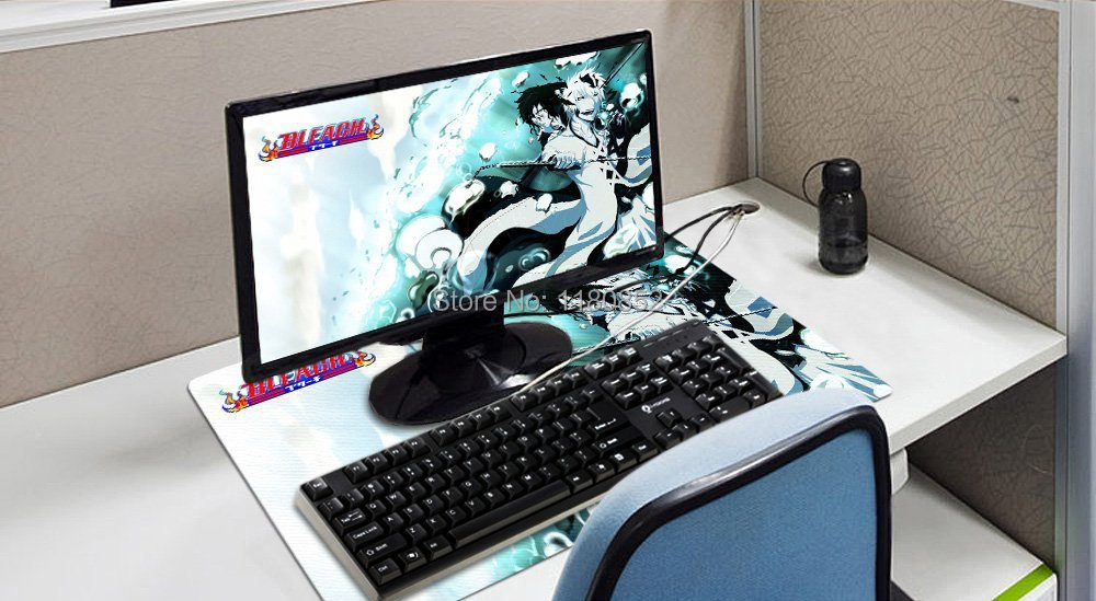Bleach Burichi Anime Characters Desk Mouse Pad Table Play Mat Ichigo Kurosaki 5 Athletics Custom In Pads From Computer Office On