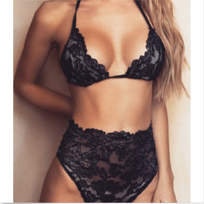 a girl g Sexy black string with