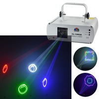 New RGB 7 CH DMX 512 Laser Master Slave DPSS Projector Lights PRO DJ KTV Disco