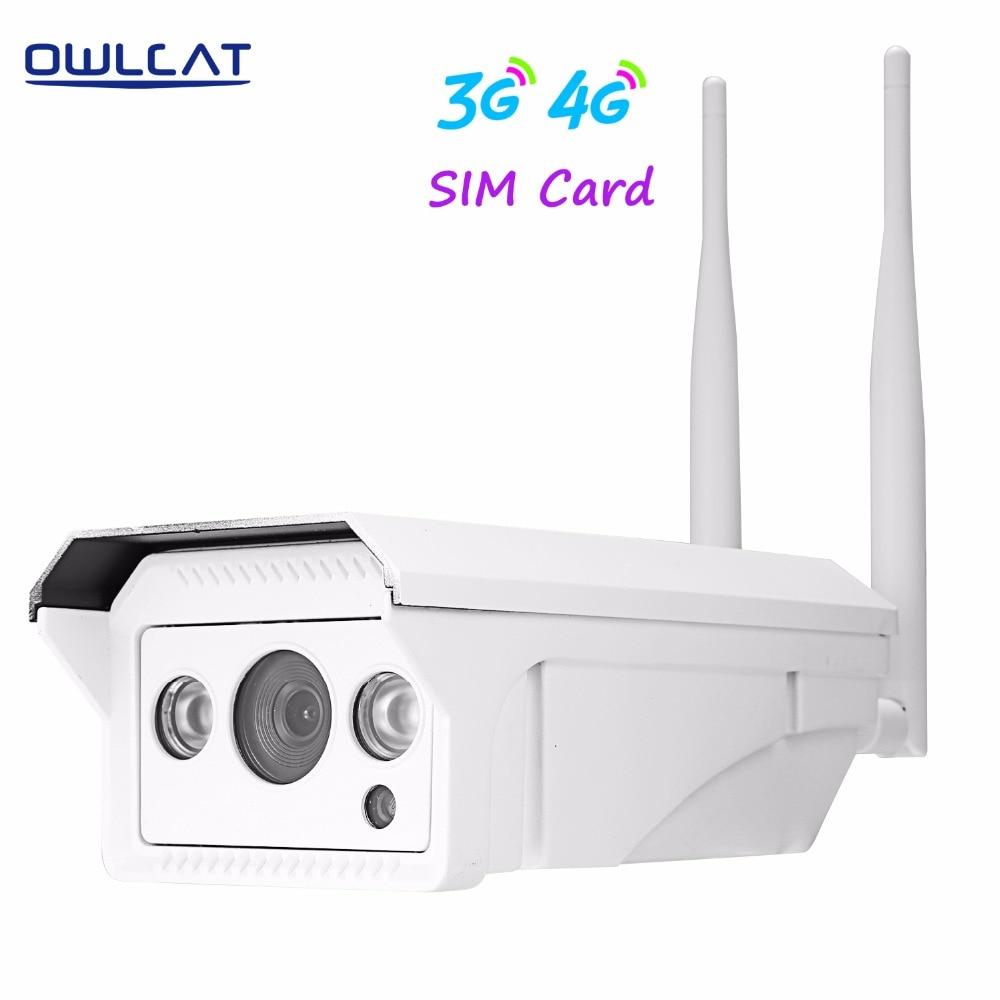"imágenes para OwlCat 3516C + 1/2. 8 ""SONY323 HD 1080 P/3518EV200 + 1/3"" AR0130 960 P Al Aire Libre bala Cámara IP WIFI Inalámbrica 3G 4G Tarjeta SIM"