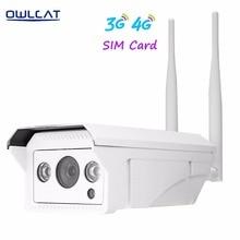 OwlCat 3516C+1/2.8″ SONY323 HD 1080P /3518EV200+1/3″ AR0130 960P Outdoor Bullet WIFI IP Camera Wireless 3G 4G SIM Card