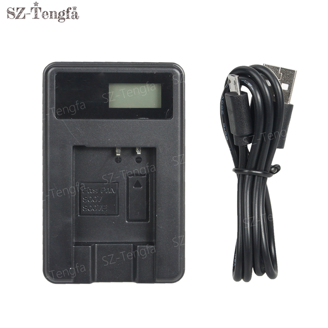 lcd usb cable charger s007 s007e fr panasonic lumix dmc tz1 tz2 tz3 rh aliexpress com