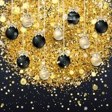Laeacco Photography Backdrops Christmas Ball Bauble Gift Ribbons Celebration Baby Photo Backgrounds Photocall Photo Studio laeacco photographic backgrounds mask ribbons birthday party celebration baby newborn photo backdrops photocall photo studio