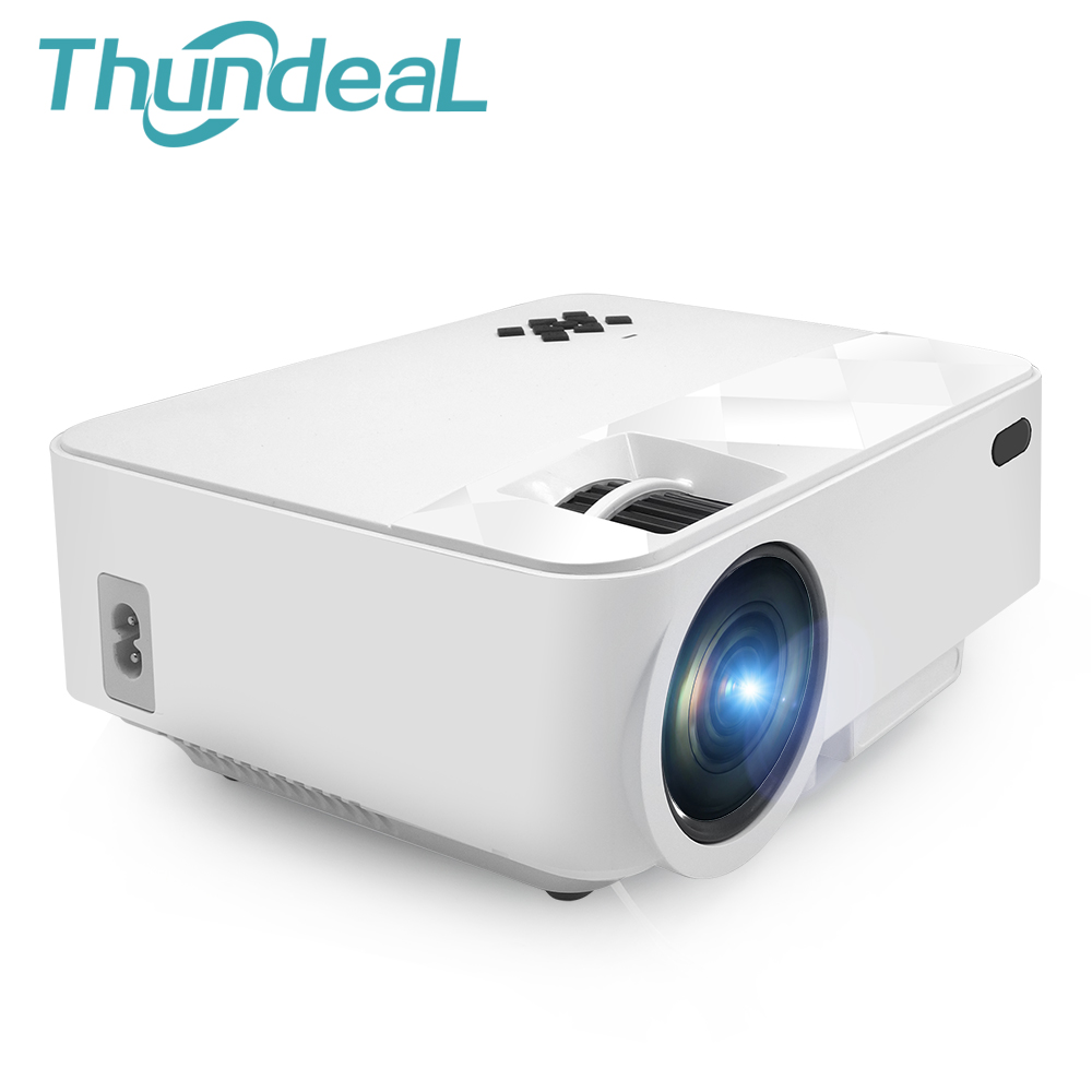 ThundeaL T21 Mini Projector 1500 Lumens Home Theater ...