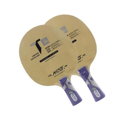 Yinhe T-6s T6 T6s cypress carbone lame de Tennis de Table pour raquette pour 40 + nouveau matériau balle