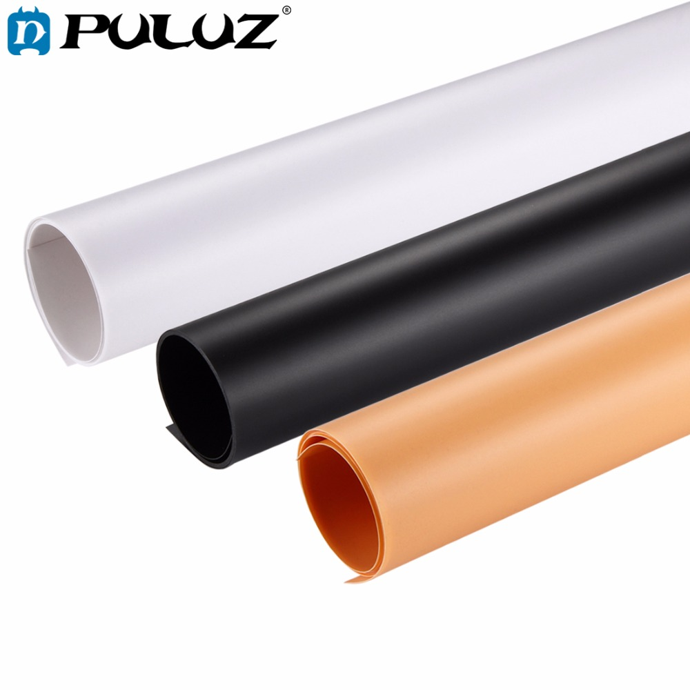 PULUZ 3PCS 60x120 / 40X80cm Photography background Screen Backdrop Background Paper Board kit for Photo Light Studio Tent Box наматрасники candide наматрасник водонепроницаемый waterproof fitted sheet 60x120 см
