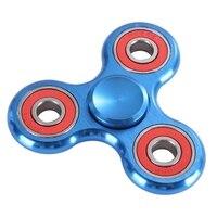 Handspinner EDC Finger Spinner Metal Toy Tri Spinner Education Learning Toy Antistress Fidget Funny Toys For