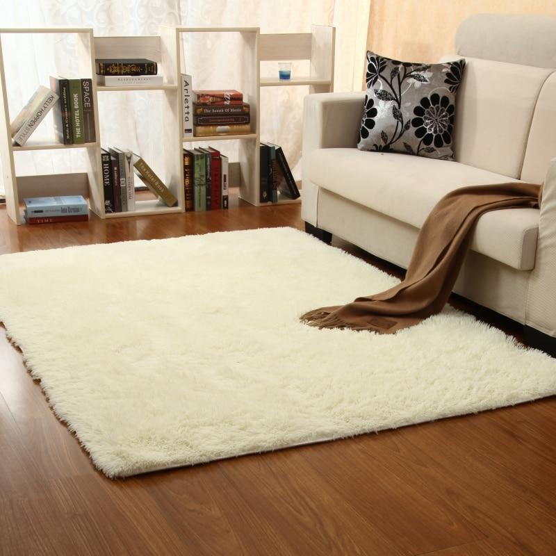 New 4cm Thickness Carpet Pad Mat Long Hair Living Room Sofa Tea Table Bedside Bedroom Full