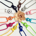 new multi color neck hand cell phone straps keychain Charm Cords  Hang Rope 50cm  Lanyard