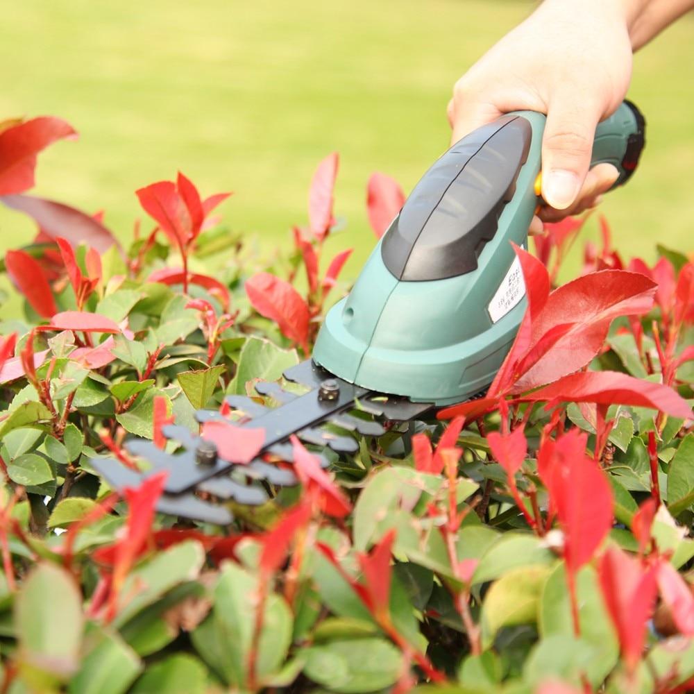 Livraison gratuite Jardin Outils 3.6 V Coupe-Herbe Outils D'élagage débroussailleuse Sécateur coupe gazon tondeuse à gazon ET1205C-DG 2in1
