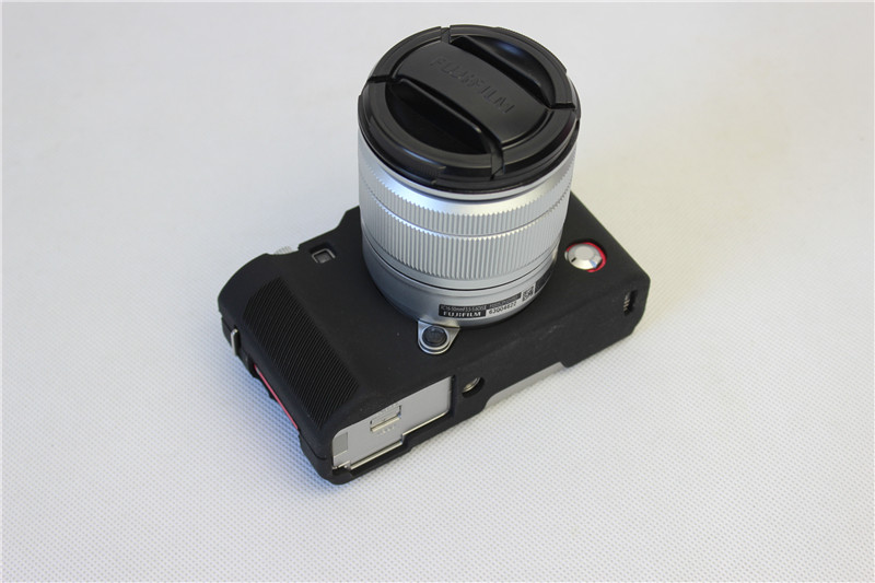 Belle Cas de Couverture De Protection Du Corps pour Fuji Fujifilm XA3 XA-3 XA10 XA-10 Souple En Silicone Caméra Sac pour Fuji XA3 XA10 avec 4 couleurs