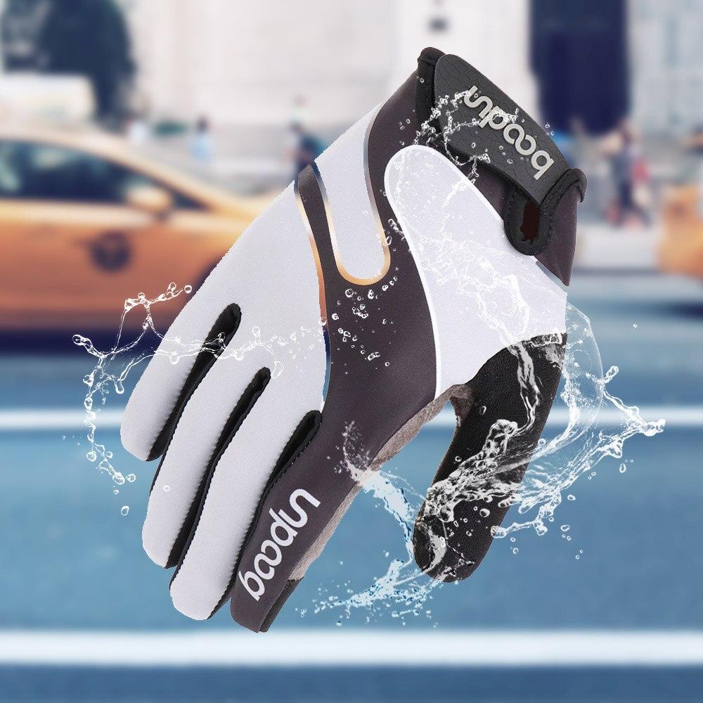 Joytutus Touchscreen Bicycle Gloves Bike racing glove rading Full finger Men Women Breathable Climbing Sailing workout