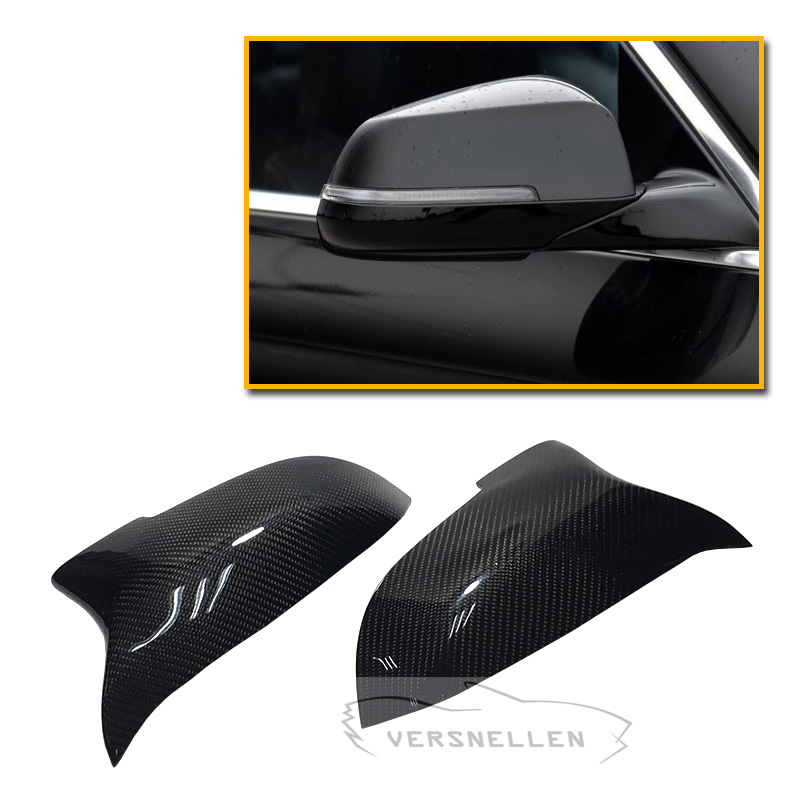 F10 Hot Selling Carbon Mirror Cover 1 1 Replacement for BMW F10 F11 F01 F02 F07