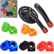 1 пара силиконовых велосипедных рычагов, защита для ботинок, велосипедная рукоятка MTB, набор, защитный рукав, крышка, части, защита кривошипа для Sram