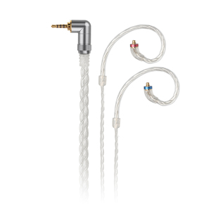 Image 1 - FiiO LC 2.5C/3.5C/4.4C tissé à la main MMCX équilibré câble de remplacement des écouteurs pour Shure/JVC/FiiO