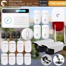 Cámara Al Aire Libre S4 eTIGER chuangkesafe GSM/PSTN Alarma Antirrobo Sistema de Alarma de Intrusión sirena Al Aire Libre