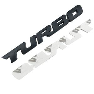 Image 4 - 3D Auto Sticker Metalen TURBO Embleem Lichaam Achterklep Badge Voor Ford Focus 2 3 ST RS Fiesta Mondeo Tuga ecosport Fusion