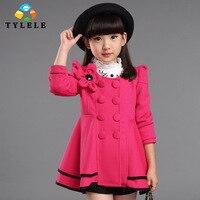2015 Spring Autumn Fashion Jacket Children S Coat Girls Outerwear Cotton Korea Style Kids Clothing Casacos