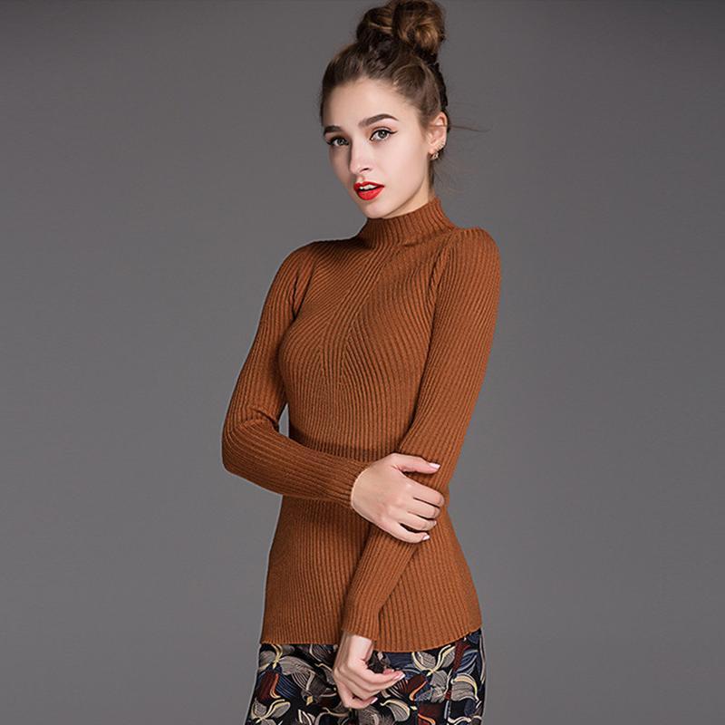 Ladies Brown Sweater Tights Woolen Sweaters Designs Teen Girls ...