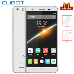 Original Cubot X16S 5.0'' HD IPS Screen 4G Smartphone 3GB+16GB MTK6735 Quad Core 1.3GHz 8MP 2700mAh Android Mobile Phone GPS OTG