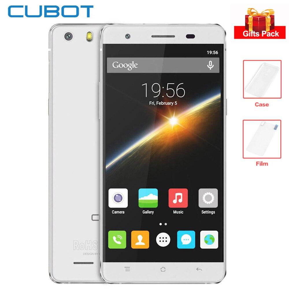 Originale Cubot X16S 5.0 ''HD IPS Dello Schermo 4g Smartphone 3 gb + 16 gb MTK6735 Quad Core 1.3 ghz 8MP 2700 mah Android Del Telefono Mobile GPS OTG