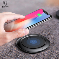 Baseus Desktop Qi Wireless Charger For IPhone X 8 Plus Samsung Note 8 S8 S7 S6